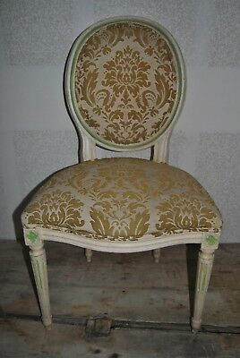Baker Furniture Vintage Louis Xvi Dining Chairs 4Side 2Arm For Restore