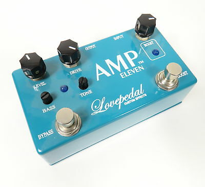 Lovepedal Custom Effects Amp Eleven 11 Distortion Boost Electric Guitar Pedal