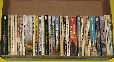 Lot of 29 Vintage Louis L'Amour Western Novels Paperback Westerns