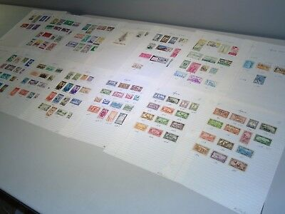 Stamp Pickers French Syria & UAR Classic Album Collection Estate Lot MH VFU