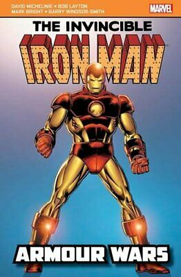 Iron Man: Armour Wars (Marvel Pocketbooks) by Michelinie, Layton Book The Cheap