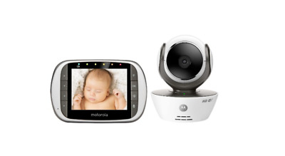 Motorola MBP853CONNECT Dual Mode Baby Monitor with 3.5-Inch LCD Parent Monitor