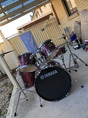 Yamaha Drum Kit gig master series Paiste Cymbals ... Pick up only!!!! 2560