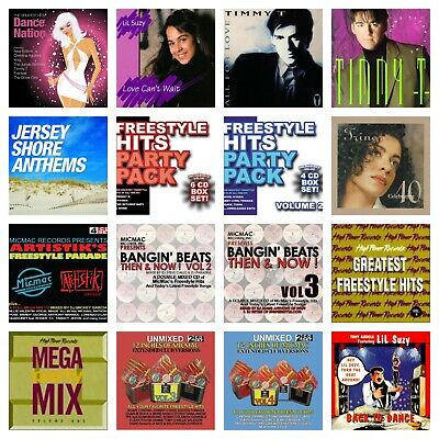 27 used FREESTYLE CD's LOT Johnny O,Cynthia,Tiana,Timmy T,Trinere,Lil Suzy,&More