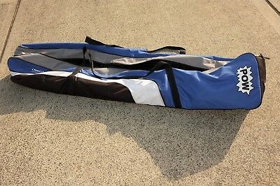 Snowboard bag -160cm fits board and bindings. Blue and Grey. Excellent condition