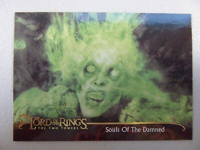 TOPPS Lord of the Rings: The Two Towers - Card #105 SOULS OF THE DAMNED