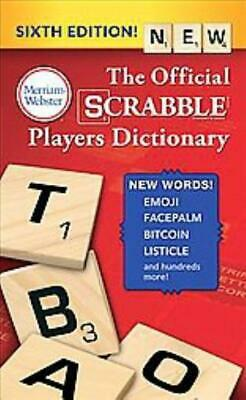 The Official Scrabble Players Dictionary - Merriam-Webster (Cor) - New Book