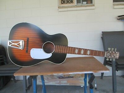 Vintage Stella Parlour Guitar Made In USA 1965 model in very good condition