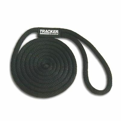"Tracker Boats 3/8"" x 15' Solid Braid Black Dock Line"