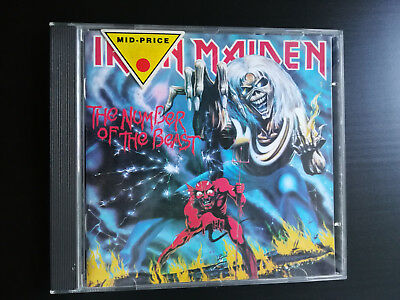 CD: The Number Of The Beast - Iron Maiden
