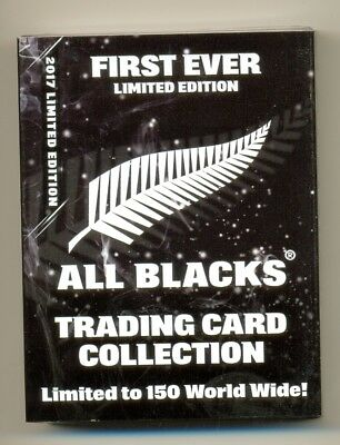2017 ESP TLA All Blacks LTD EDT BLACK card set of 25 cards # 010/150