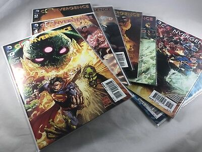 DC Convergence Lot NM/NM+ With1:25 Tony Daniel Variant Harley Quinn #1