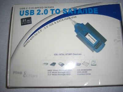 USB  to  SATA / IDE  Adapter