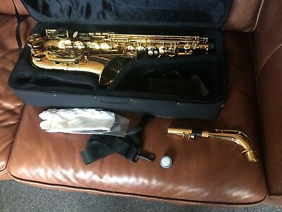 Beltone Alto Saxophone - New With Case And Extras
