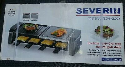 severin raclette grill RG 9640 1400w