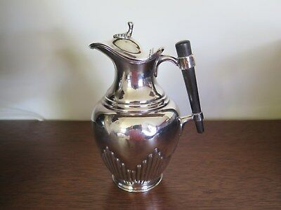 Silver water/hot water jug - Thomas Oatley and Sons, Shefield