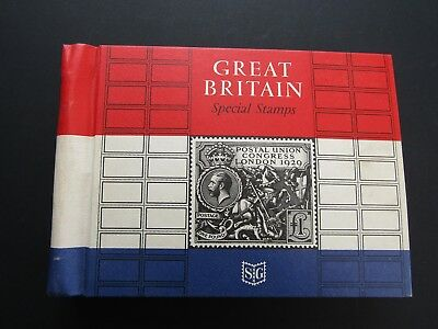 Great Britain Fine Collection Of 130+ Mnh Sets In S.gibbons Special Album