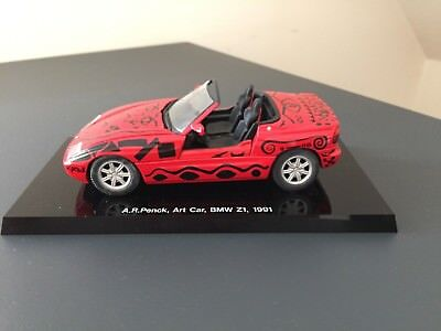 A.R.Penck, Art Car, BMW Z1, 1991