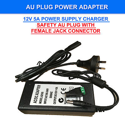 AC240V to DC12V Power Supply Adapter Charger Converter AU Plug 5.5mm*2.1mm 1-5A