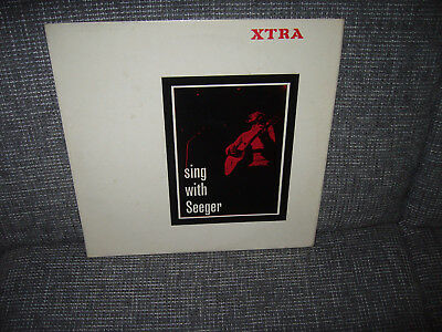 Rare Beat Blues Lp Sing With Seeger Xtra Uk-Press