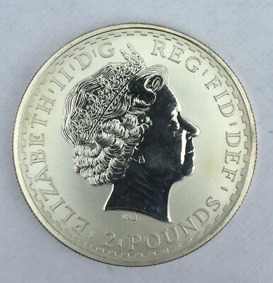 Great Britain Silver 2 Pounds 1999