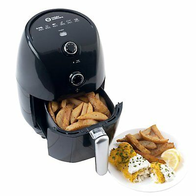 Weight Watchers 2 Litre Healthy Low Fat Air Fryer Compact 900W Black Food Frying