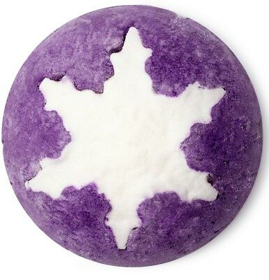 LUSH * Plum Snow ** Schaumbad ** Yule Weihnachts Edition** Pflaumen