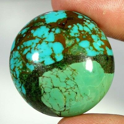 62.30Ct 100% Natural Nice Quality Tibet Turquoise Round Cabochon Loose Gemstones