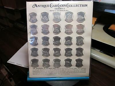 Franklin Mint - Antique Car Coin Collection - Series Two  - UNC         (G-58)