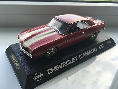 Chevrolet Camaro SS 1969 1/32 Superslot Scalextric Street Car red very rare