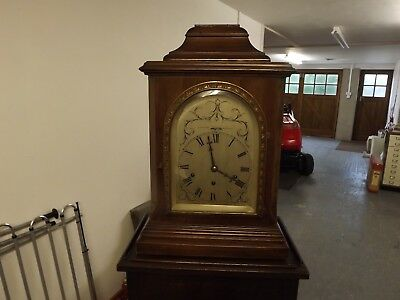 Large  Bracket Clock With Stand