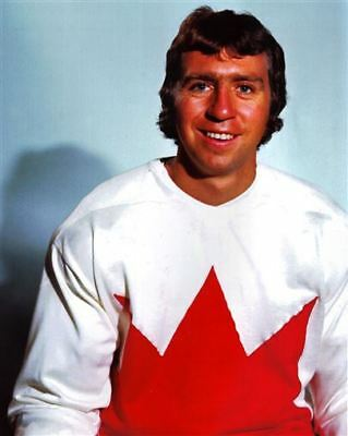 Brian Glennie team Canada 1972 8x10 Photo