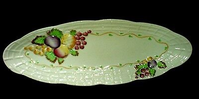 ROYAL STAFFORD A.J.WILKINSON LTD Fruit Basket Clarice Cliff Platter 14 3/4 c1947