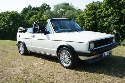 1983 Volkswagen Golf Mk1 Gti 1.8 Cabriolet For Sale With No Reserve!