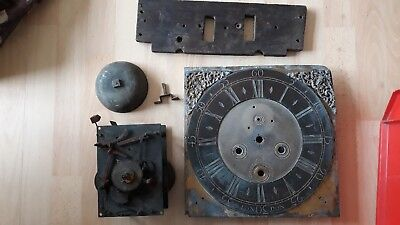 ANTIQUE CLOCK MOVEMENT & FACE  THO TAYLOR HOLBOURN  LONDON   No 1