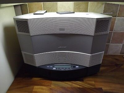 Bose Acoustic Wave Music Audio System Cd-3000 With Bose 5 CD UK