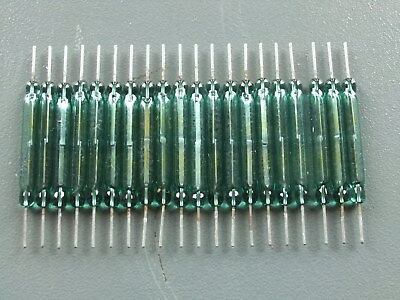 GPO GLASS REEDS FOR TXE REED RELAYS. Number Not Known  x 20 OFF  (New Old Stock)