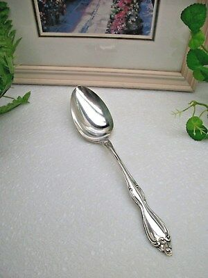 Oneida Silver  Wm. A. Rogers  OLD SOUTH  Silverplate Solid Serving Spoon   1949
