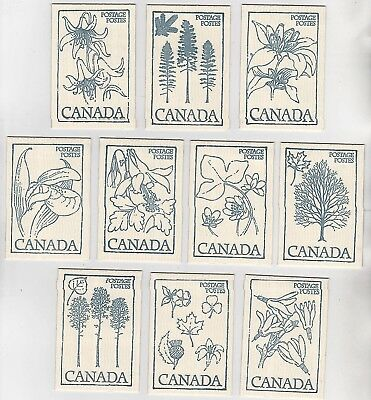10, Full Canada Stamp  Booklets # 80
