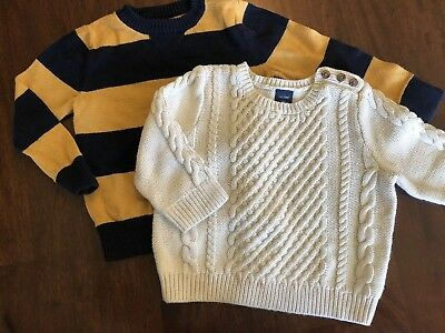 Baby Gap Boys Sweaters 2T And 18m