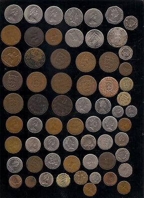 Choose From Lot Coins Jersey / Guernsey Coin British Isle Of Man Gibraltar