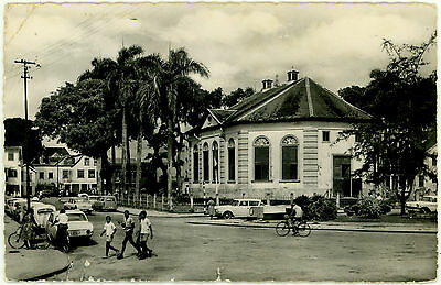 Surinam, Suriname Post Card Used Photo, Stamp Removed, Kirk, Church