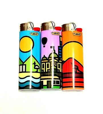 Cartoon LIGHTER Cigarette Tobacco BIC Maxi Lighters Bulk 5 Pack