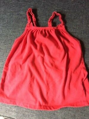 Baby Gap Short Sleeve Red color T Shirt - Toddler 2 yrs