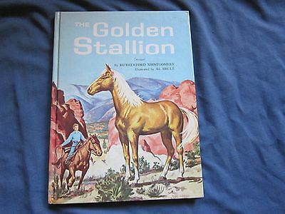 GOLDEN STALLION Palomino Mustang abridged Hb Rutherford Montgomery Al Brule~NiCe