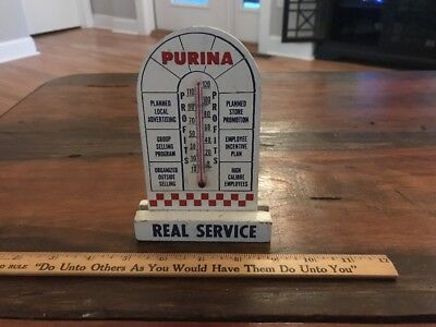 Vintage Purina Advertising Thermometer From The 1953 Purine Business Management