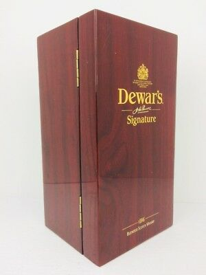 Dewar's Signature 1846 Scotch Whisky Empty Display Box Collectible No Bottle