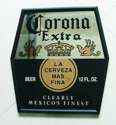 *1980's Corona Extra Mirror Hanging Sign 21 Inches Tall