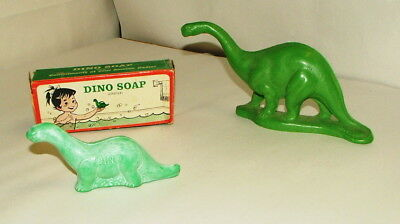 * 1960's Sinclair Dino Soap Collection In Original Box