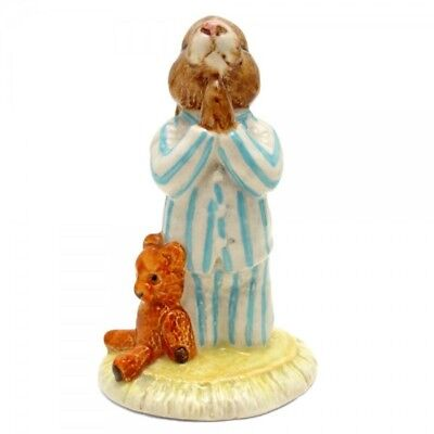***SUPER $30.00 SALE ****Royal Doulton Bunnykins Figurine -Bedtime -- DB55